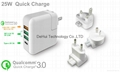 QC3.0 Quick Charger 25W With Type C