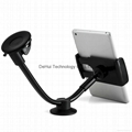Universal 3in1 Long Arm Car Mount For Smart phone(3.5-5.5inch)/Tables(7-8inch)