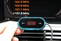 Car FM Transmitter dual USB Car Charger with 5V 4.8A Output for Smartphones/ipad