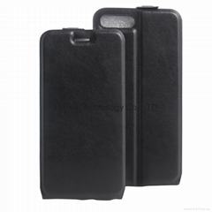 Flip Type TPU+PU Protective Case for iphone 7 plus