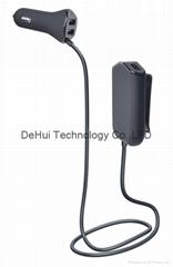 48W 9.6A 4-Port USB Car