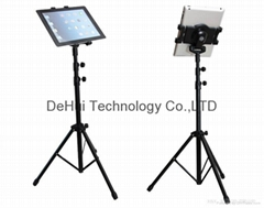 Tablet Tripod stand for ipad mini / air, samsung galaxy tab / 7-10inch tablets