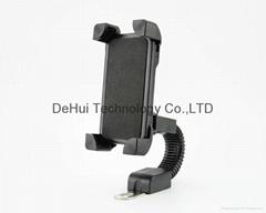 "Motorcycle phone mount holder universal 3.5""-6.5"" Smart phones"