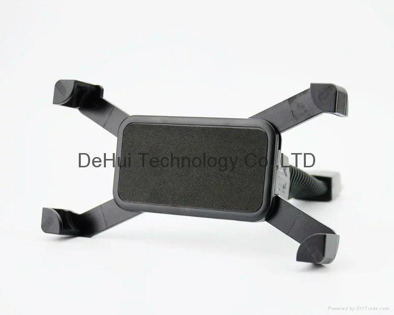 "Motorcycle phone mount mirror motorbike holder for 3.5"" to 6.5"" Smartphones  4"