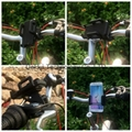 Bike Phone Mount Bicycle Motorcycle handlebar Holder for Smartphone / Cell phone