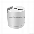 Aluminum Pencil charging station and phone stand for iphone/ipad