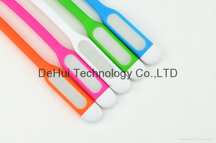 Micro-USB Date Cable with mini led light for android phones 4