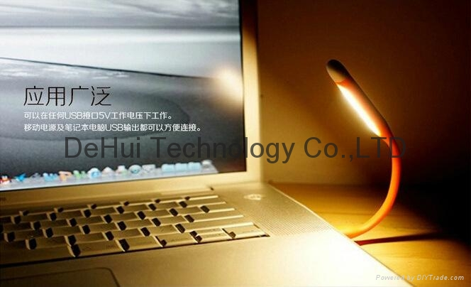Micro-USB Date Cable with mini led light for android phones 7