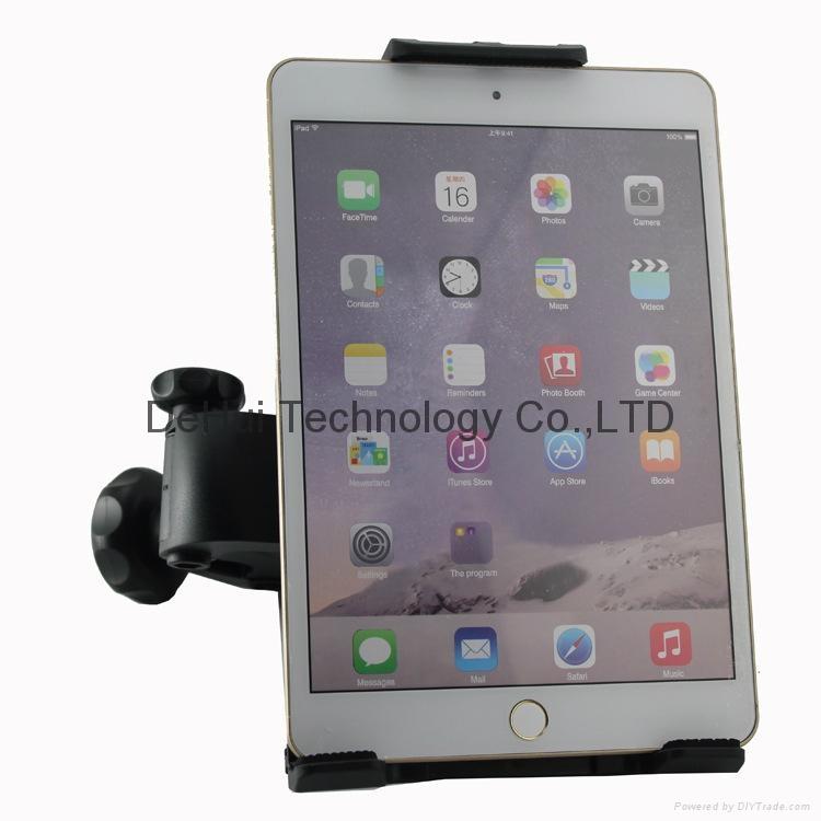 Car Headrest holder mount for 3.5-6inch mobile phone/6-11inch tablet 1