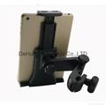 Car Headrest holder mount for 3.5-6inch mobile phone/6-11inch tablet 2
