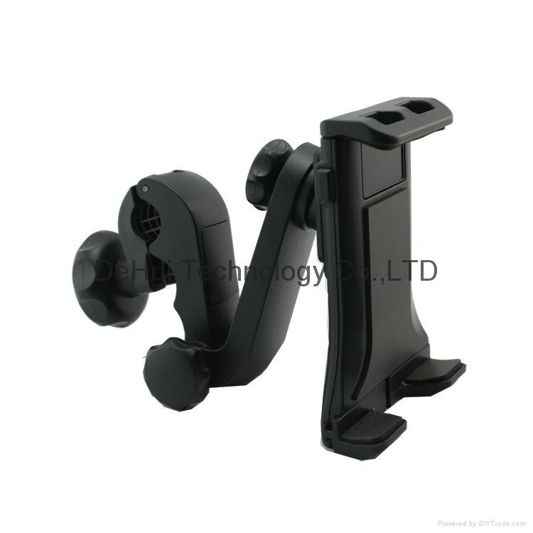Car Headrest holder mount for 3.5-6inch mobile phone/6-11inch tablet 7