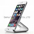 Desktop aluminum stand for iphone/ipad