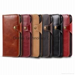 Genuine Leather Case for iphone 7 plus