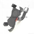 Motorcycle phone mount holder universal