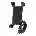 "Motorcycle phone mount mirror motorbike holder for 3.5"" to 6.5"" Smartphones  1"
