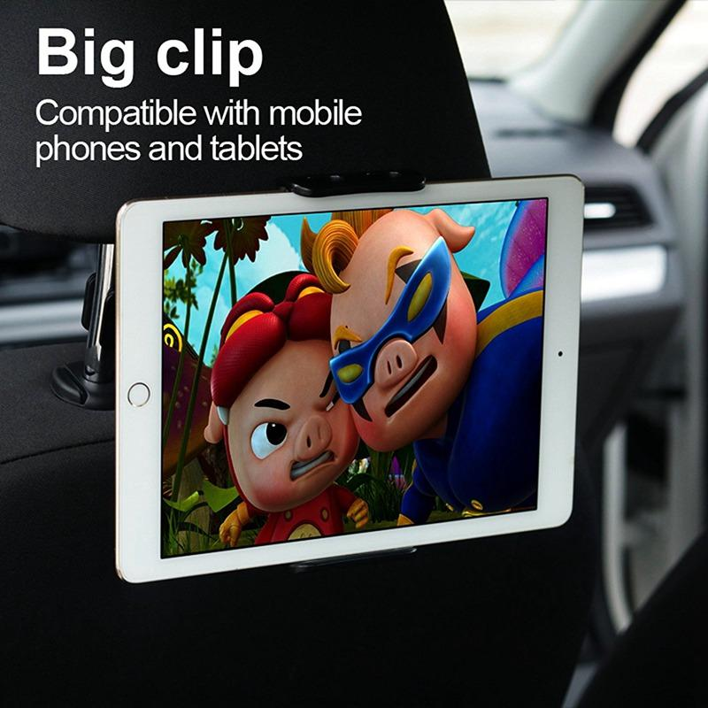 Headrest Tablet / Phone Car Mount 2-in-1 Design for iphone/ipad 6