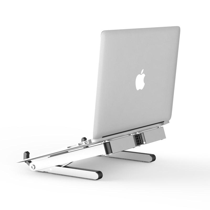 Creative design Aluminum Stand for Laptop / Tablet / Smartphone and more