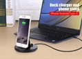 2A Fast Charging Aluminum Stand for