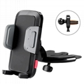 CD Slot Player + Air Vent Cell phone Universal Car Mount Holder Cradle
