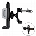 """2-in-1 Air Vent Phone Mount Holder for 3.5"""" to 6"""" inches Smartphones/Cell phones"""
