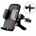 "2-in-1 Air Vent Phone Mount Holder for 3.5"" to 6"" inches Smartphones/Cell phones"