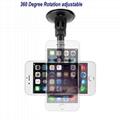 Universal Windshield Long Arm Car Phone Mount Holder Cradle