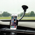 Universal Windshield Long Arm Car Phone Mount Holder Cradle