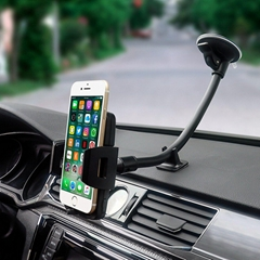 "Long Arm Car Truck phone iphone mount holder cradle for Smartphone(3.5"" to 6.0"")"