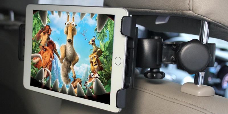 Car Headrest holder mount for 3.5-6inch mobile phone/6-11inch tablet 18
