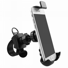 Universal Cell phone holder mount stand for bike/motorcycle/exercise spin bikes