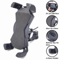 Universal Motorcycle Phone Holder With 5V 2A USB Charger for smartphones