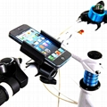 Metal Bike Phone Mount for Smartphones ( iPhone/Samsung/HTC/Sony/LG/HuaWei/Nokia