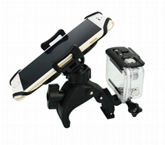 2-in-1 Cell phone and GoPro Bike Mount