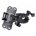 2-in-1 Cell phone and GoPro Bike Mount Holder for Bicycle / Motorcycle Handlebar