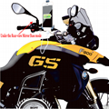 Motorcycle Phone Mount with Waterproof 5V 2A USB Fast Charging Port