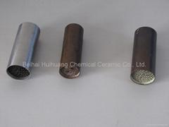 metallic catalyst substrate