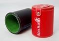 Bacardi Leather Dice Cup