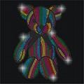 Sell Teddy Bear Hotfix Rhinestuds Motif