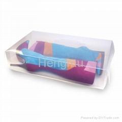 Plastic shoes box
