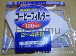 Paper coffee filter 2
