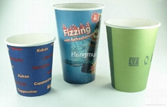Paper cup for hot and cold drink
