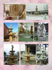 大理石噴泉