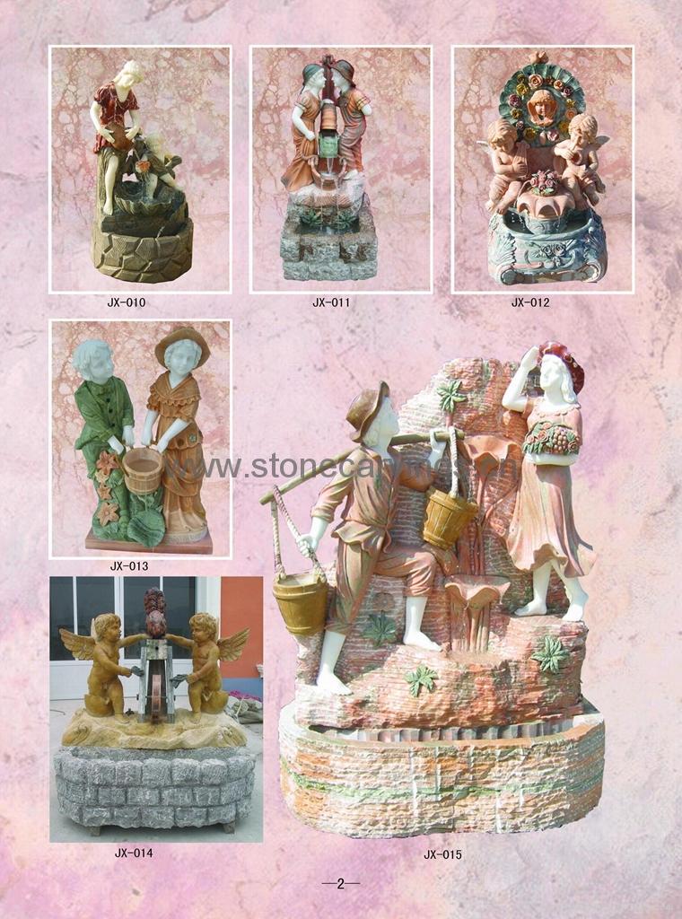 Marble Garden Fountain 1