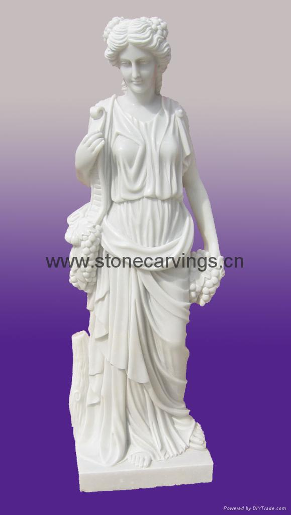 White Marble Statue : White marble statue ygsa china trading company