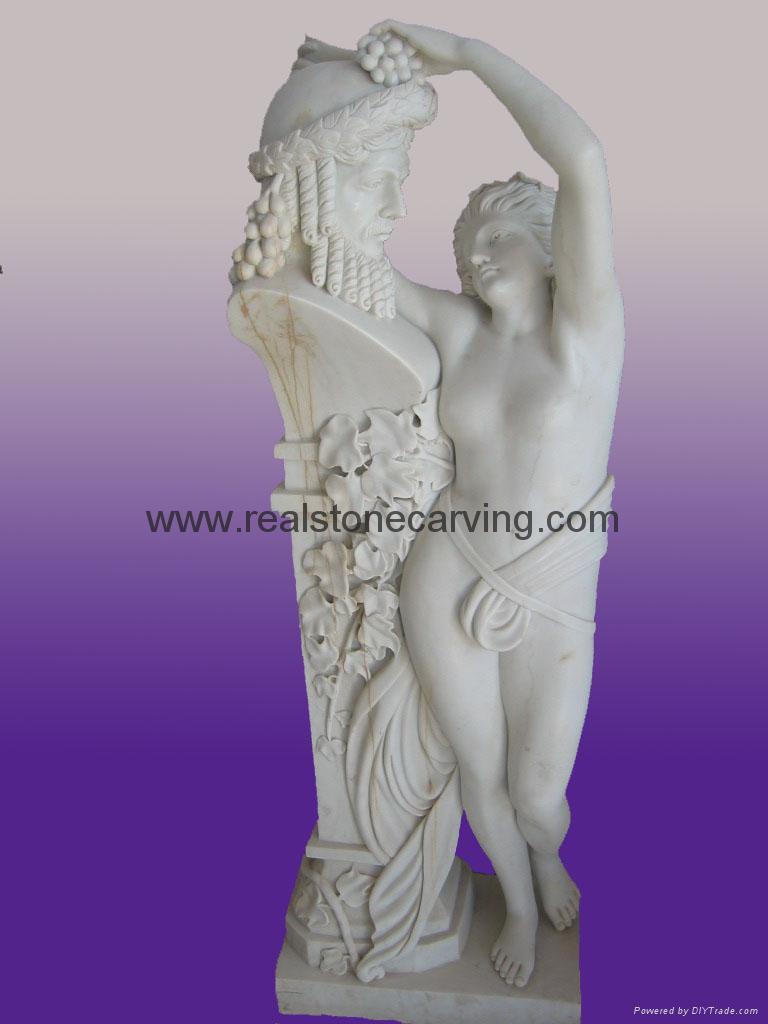 大理石人物彫像 1