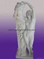 大理石人物彫像