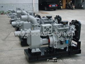 柴油机自吸排污泵 2