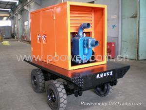 柴油机自吸排污泵 3
