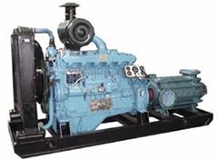 应急柴油机水泵组