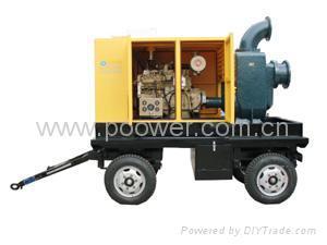 柴油机自吸排污泵 4